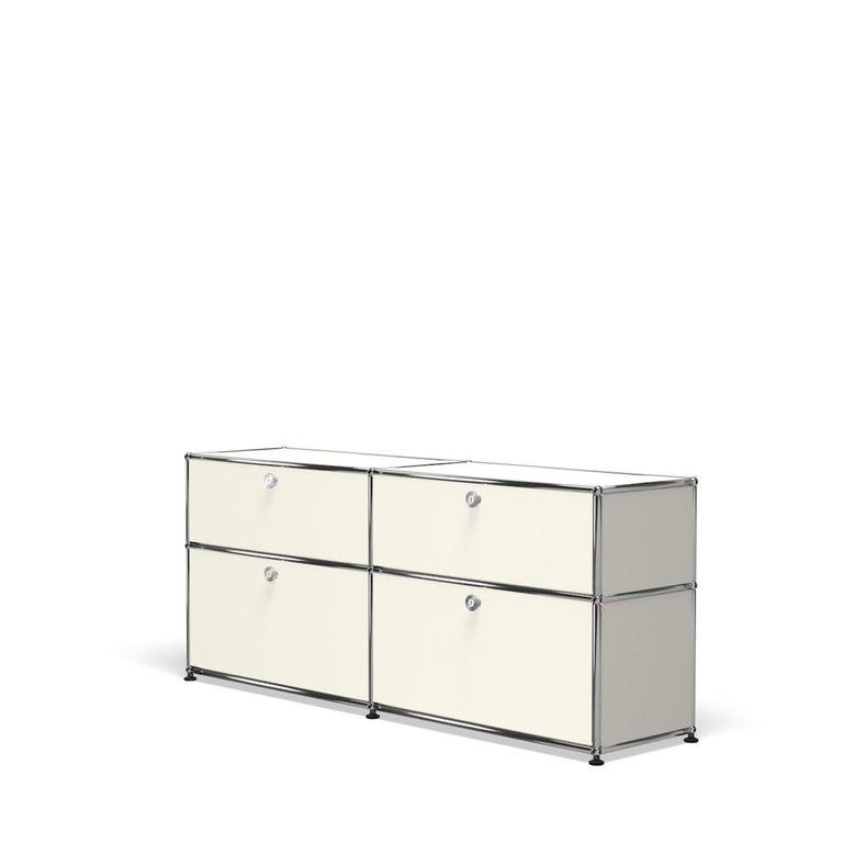 For Sale: White (Pure White) USM Haller Mid Credenza D Storage System 2
