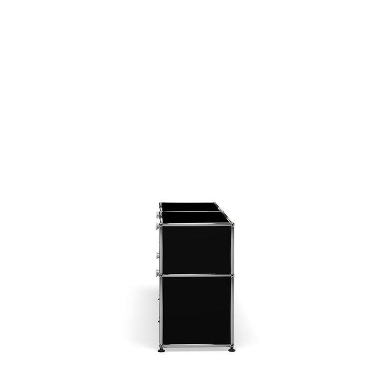 For Sale: Black (Graphite Black) USM Haller Mid Credenza D Storage System 3
