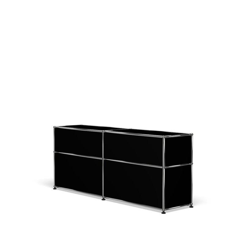 For Sale: Black (Graphite Black) USM Haller Mid Credenza D Storage System 5