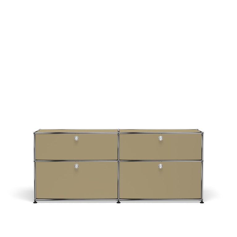 For Sale: Beige USM Haller Mid Credenza D Storage System