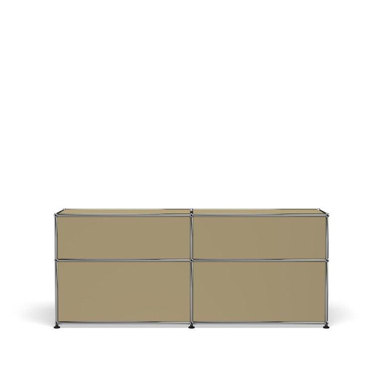 For Sale: Beige USM Haller Mid Credenza D Storage System 4
