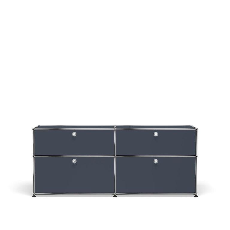 For Sale: Gray (Anthracite) USM Haller Mid Credenza D Storage System