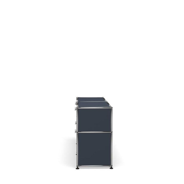 For Sale: Gray (Anthracite) USM Haller Mid Credenza D Storage System 3
