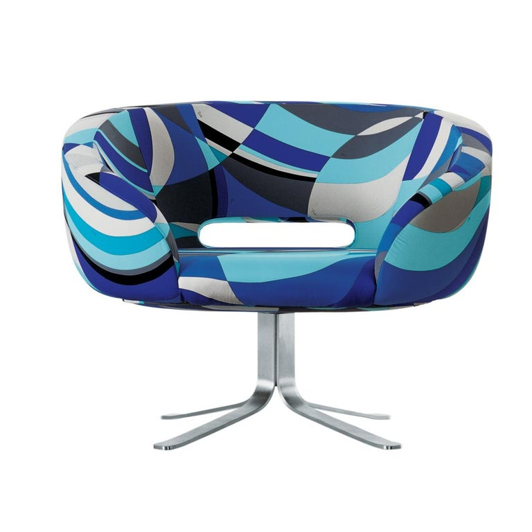 For Sale: Multi (PUCCI Cotton L02) Patrick Norguet Rive Droite in Pucci Upholstery Fabrics for Cappellini