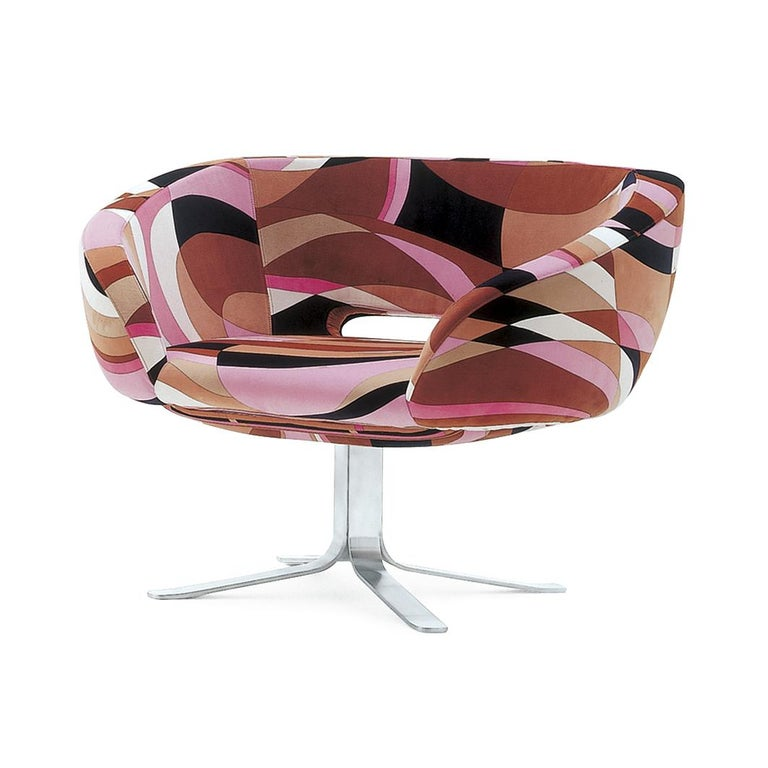 For Sale: Multi (PUCCI Velvet M01) Patrick Norguet Rive Droite in Pucci Upholstery Fabrics for Cappellini