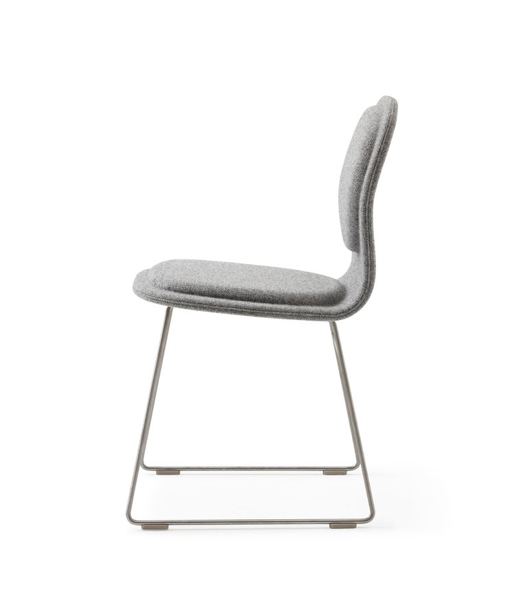 For Sale: Silver (Hallingdal 2 555) Jasper Morrison Hi Pad Chair in Beech Plywood & Fabric or Leather for Cappellini 3