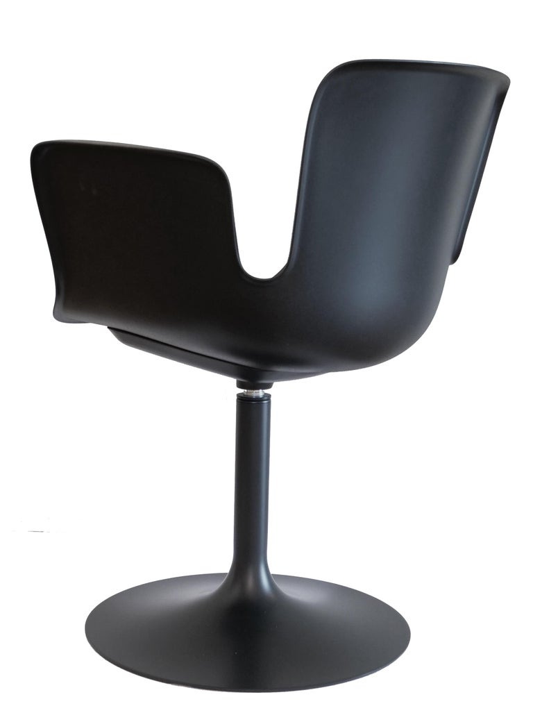 For Sale: Black (48 Anthracite) Werner Aisslinger Juli Plastic Chair in Metal Base & Plastic Shell by Cappellini 2