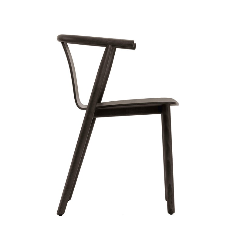 For Sale: Brown (115_Wenge Stained Ash) Jasper Morrison Bac Stool in Solid Ashwood for Cappellini 2