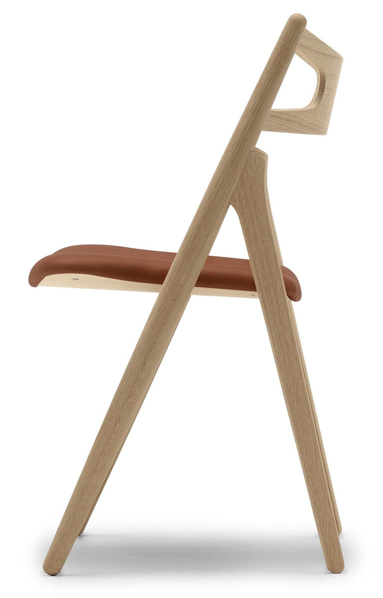 For Sale: Brown (Thor 307) CH29P Sawbuck Chair in Oak Soap by Hans J. Wegner 2