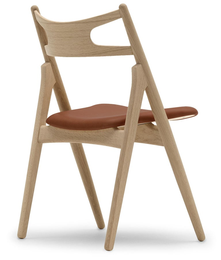For Sale: Brown (Thor 307) CH29P Sawbuck Chair in Oak Soap by Hans J. Wegner 3