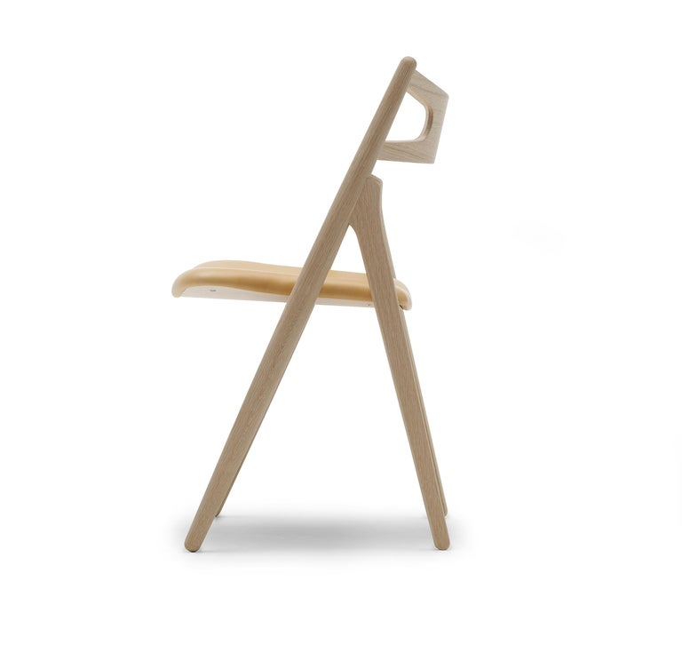 For Sale: Brown (Thor 325) CH29P Sawbuck Chair in Oak Soap by Hans J. Wegner 2