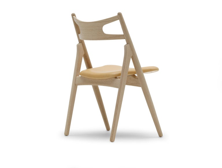 For Sale: Brown (Thor 325) CH29P Sawbuck Chair in Oak Soap by Hans J. Wegner 3