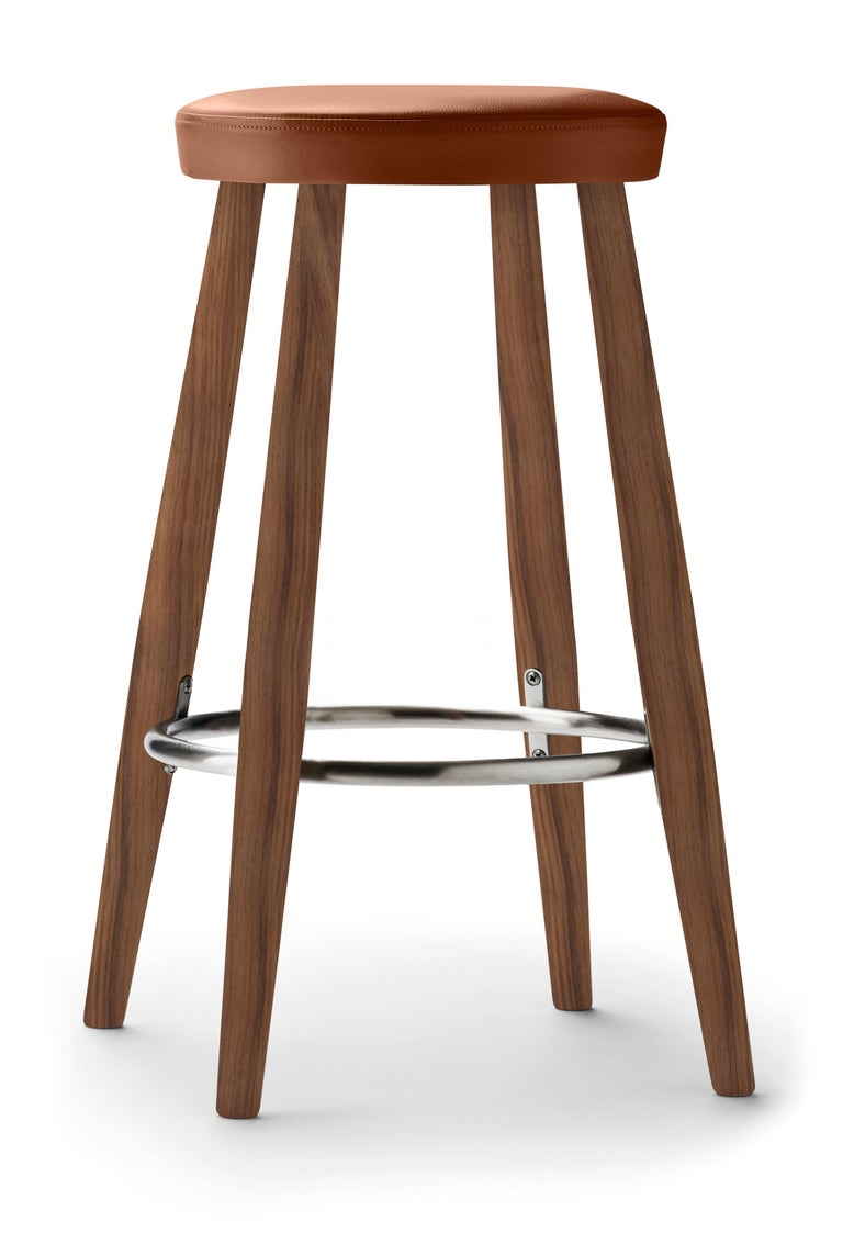 For Sale: Brown (Thor 307) CH58 Counter Stool in Walnut Oil by Hans J. Wegner