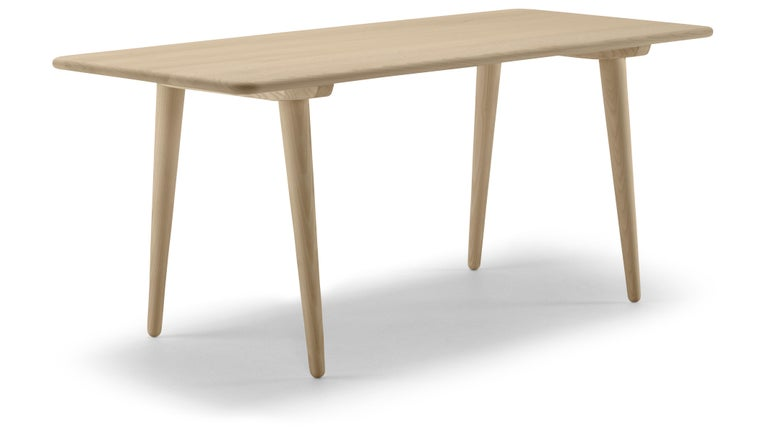 For Sale: Brown (Oak Soap) CH011 Coffee Table in Wood by Hans J. Wegner