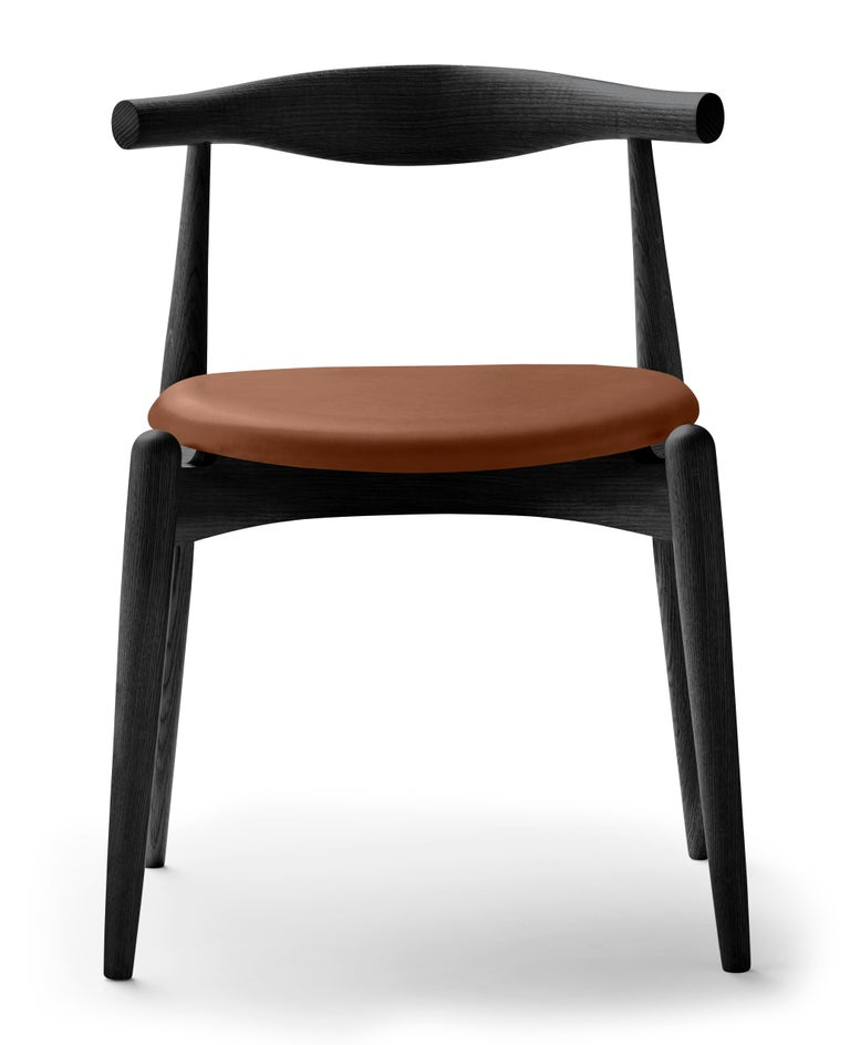 For Sale: Brown (Thor 307) CH20 Elbow Chair in Oak Painted Black by Hans J. Wegner