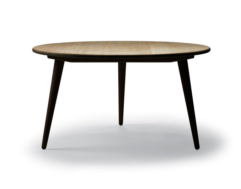 For Sale: Brown (Walnut Lacquer) CH008 Small Coffee Table in Wood by Hans J. Wegner