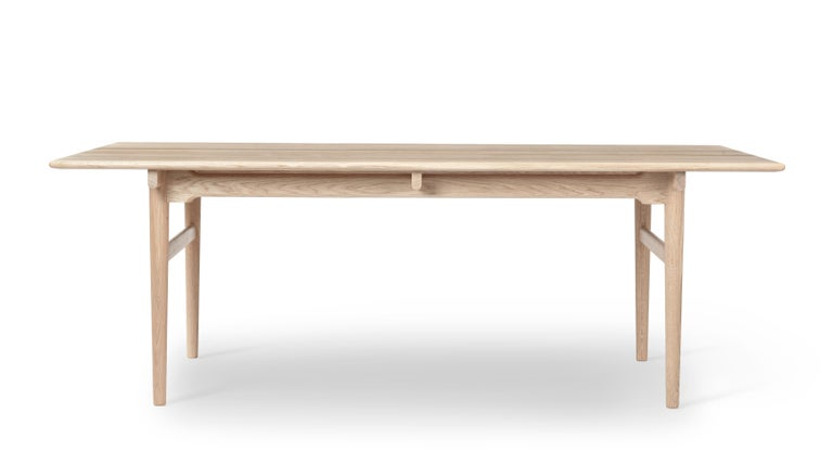For Sale: Brown (Oak Soap) CH327 Large Dining Table in Wood Finish by Hans J. Wegner