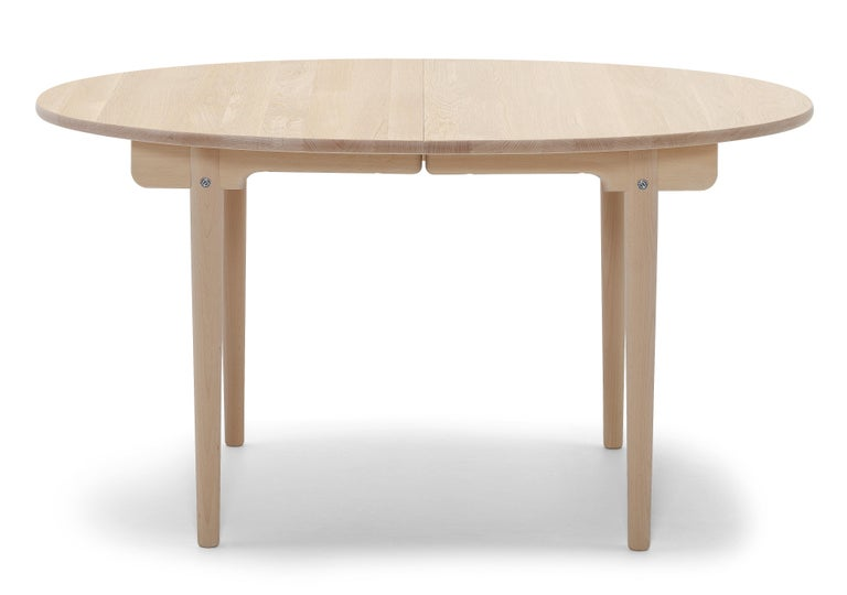 For Sale: Brown (Oak Soap) CH337 Dining Table in Wood Finish by Hans J. Wegner