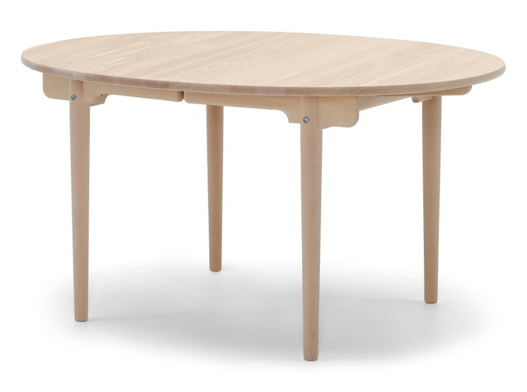 For Sale: Brown (Oak Soap) CH337 Dining Table in Wood Finish by Hans J. Wegner 2