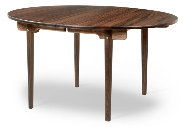 For Sale: Brown (Walnut Oil) CH337 Dining Table in Wood Finish by Hans J. Wegner 2