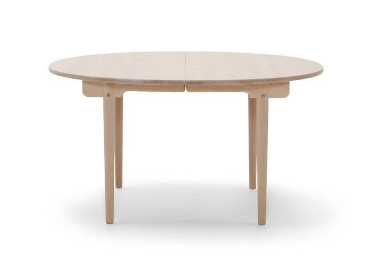 For Sale: Beige (Beech Soap) CH337 Dining Table in Wood Finish by Hans J. Wegner