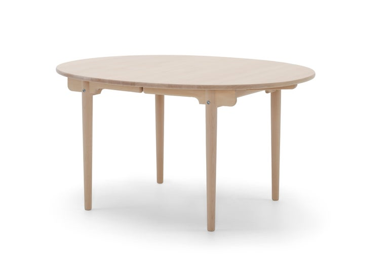 For Sale: Beige (Beech Soap) CH337 Dining Table in Wood Finish by Hans J. Wegner 2
