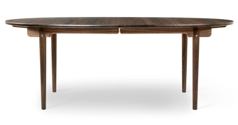 For Sale: Brown (Walnut Oil) CH338 Dining Table in Wood Finish by Hans J. Wegner