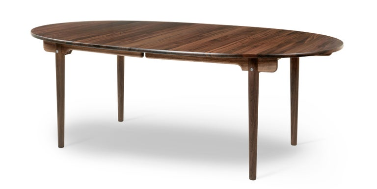For Sale: Brown (Walnut Oil) CH338 Dining Table in Wood Finish by Hans J. Wegner 2