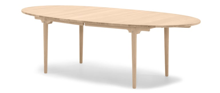 For Sale: Brown (Oak Oil) CH339 Dining Table in Wood Finish by Hans J. Wegner 2