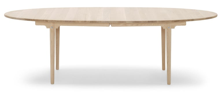 For Sale: Brown (Oak Soap) CH339 Dining Table in Wood Finish by Hans J. Wegner