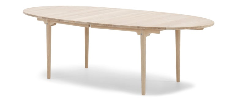For Sale: Brown (Oak Soap) CH339 Dining Table in Wood Finish by Hans J. Wegner 2