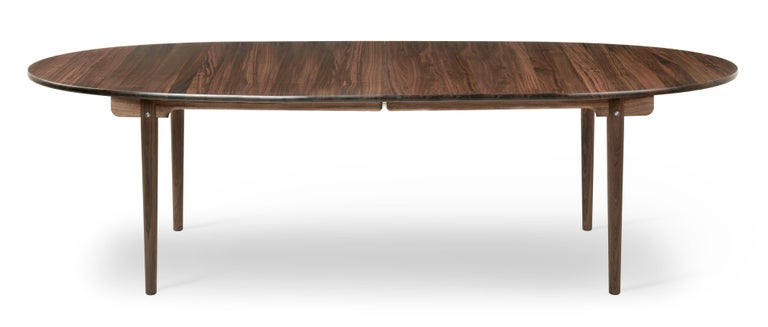 For Sale: Brown (Walnut Oil) CH339 Dining Table in Wood Finish by Hans J. Wegner