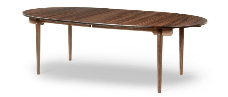For Sale: Brown (Walnut Oil) CH339 Dining Table in Wood Finish by Hans J. Wegner 2