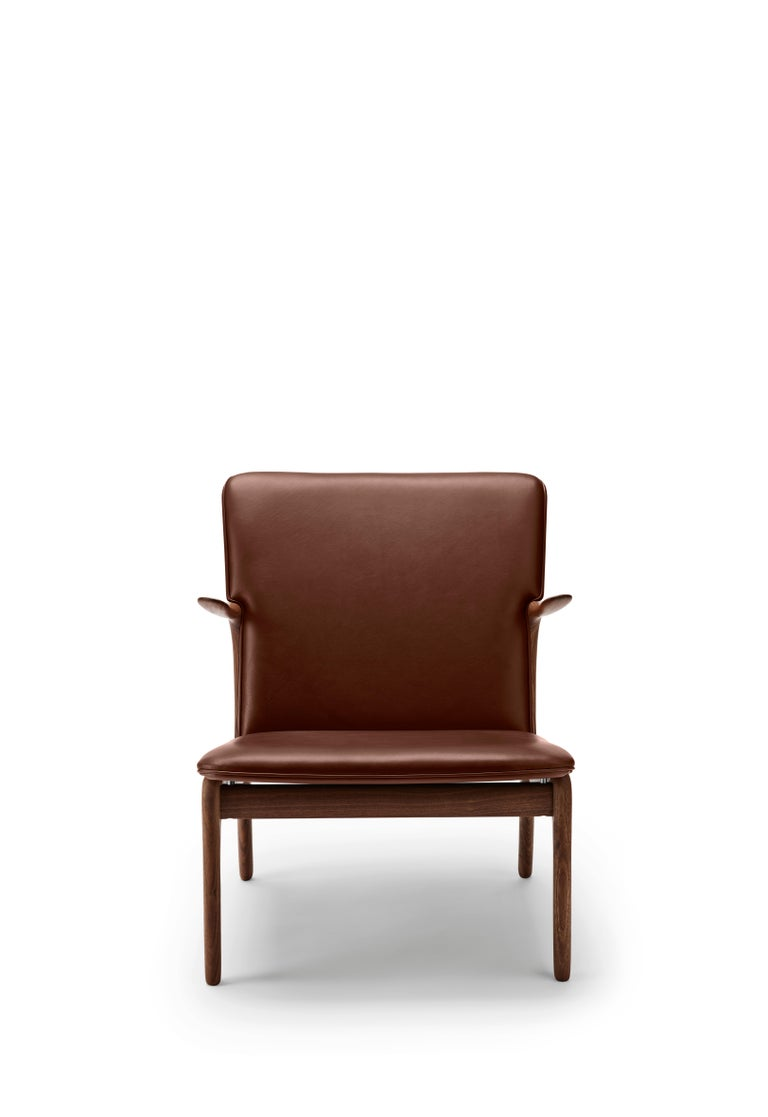For Sale: Brown (Sif 92) OW124 Beak Chair in Walnut Oil by Ole Wanscher