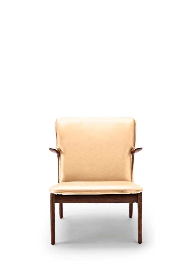 For Sale: Beige (Sif 90) OW124 Beak Chair in Walnut Oil by Ole Wanscher