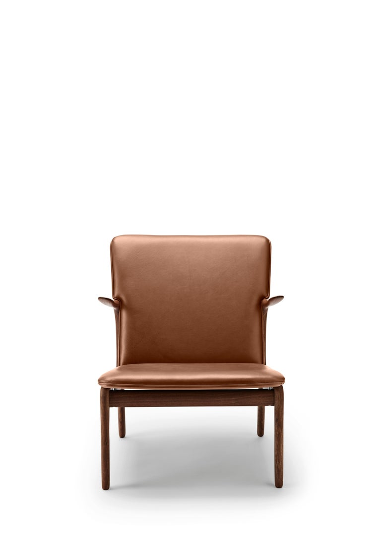 For Sale: Brown (Thor 307) OW124 Beak Chair in Walnut Oil by Ole Wanscher