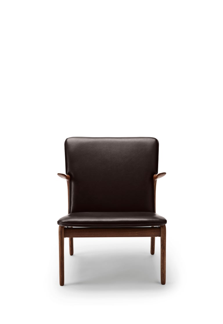 For Sale: Brown (Thor 377) OW124 Beak Chair in Walnut Oil by Ole Wanscher