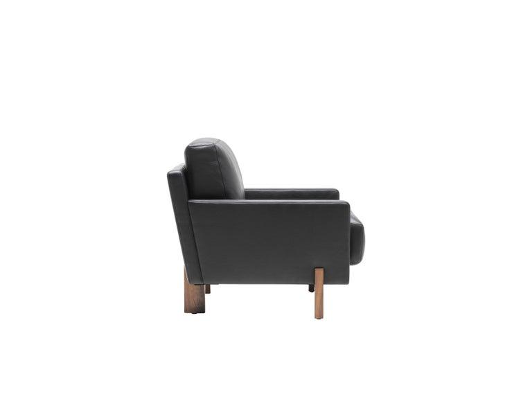 Black De Sede Leather Armchair by Stephan Hürlemann 2