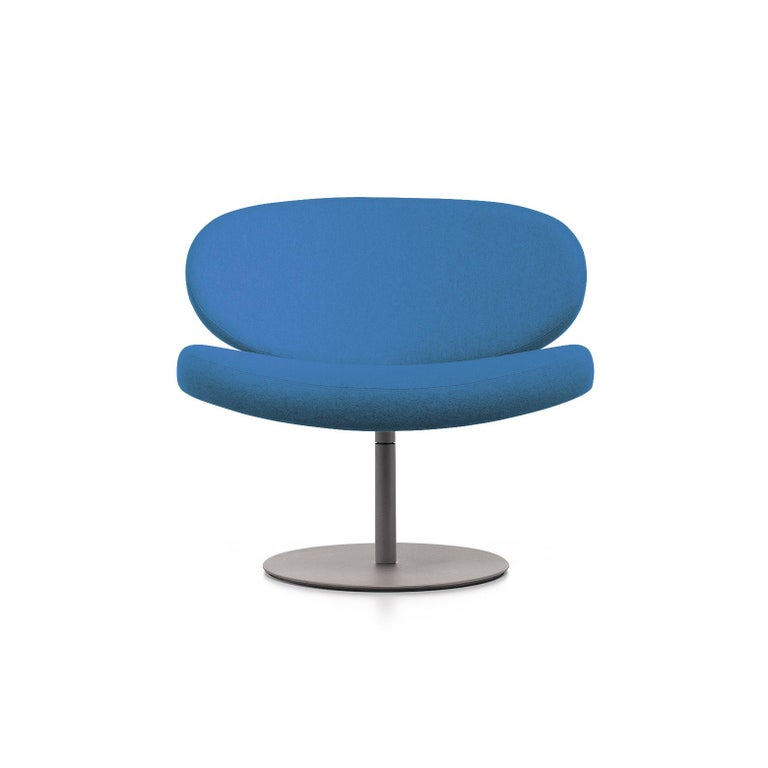 For Sale: Blue (Hero - 812) Cappellini Sunset Armchair in Beech with Fabric or Leather by Christophe Pillet
