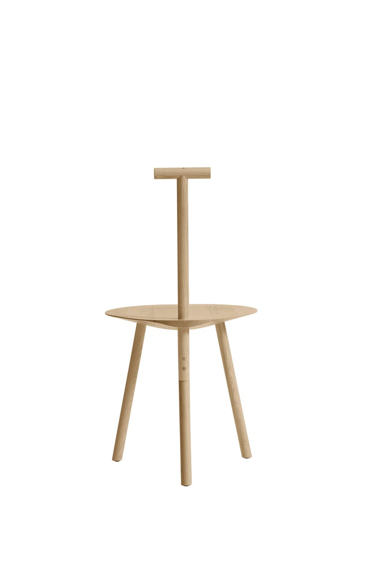 For Sale: Brown (Natural Ash) Spade Ashwood Corner Chair by Faye Toogood 3