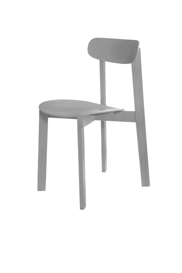 For Sale: Multi (Ash Grey) Bondi Stackable Dining Chair in Ashwood