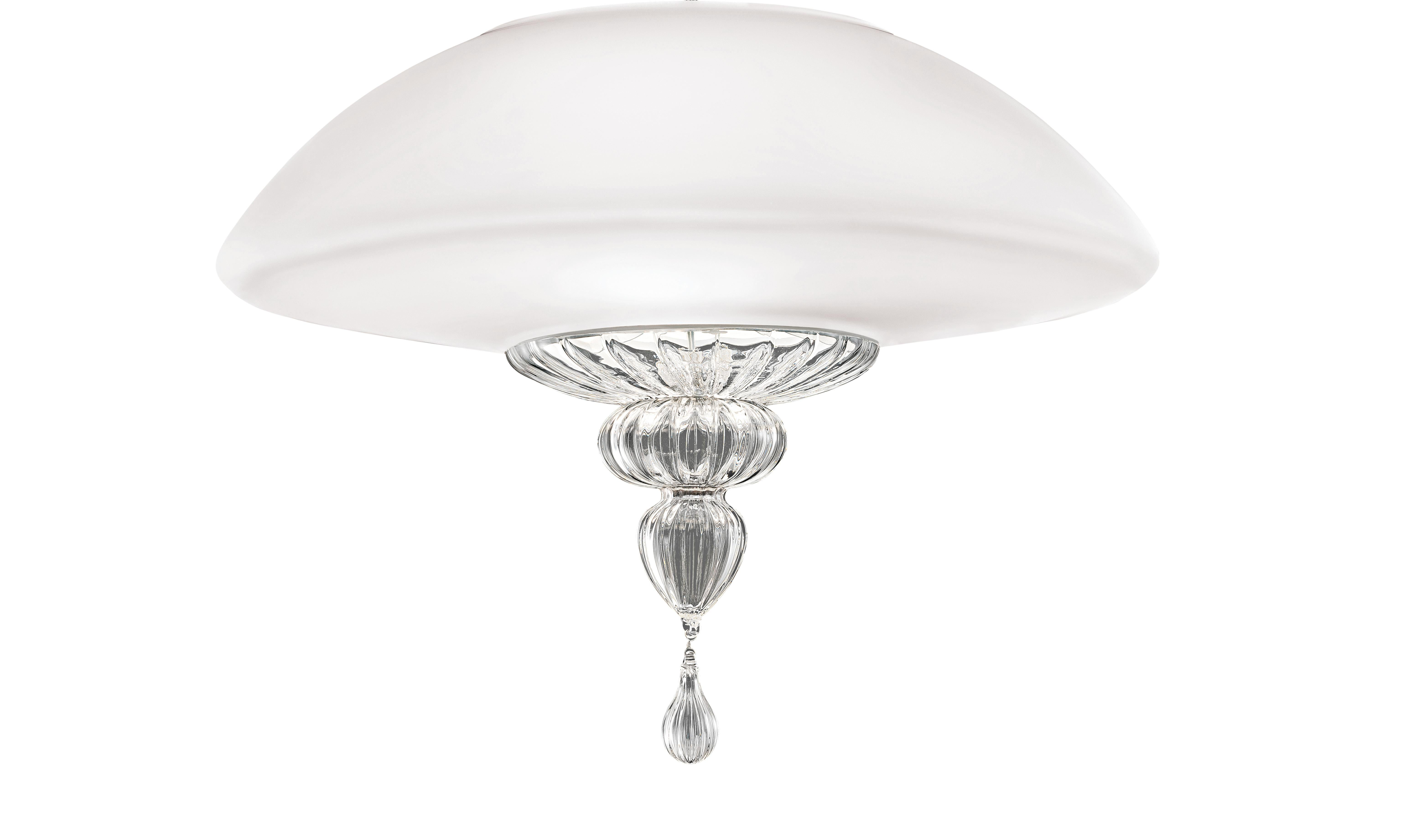 Topkapi 7093 60 Ceiling Lamp in Glass, by Daniela Puppa from Barovier&Toso