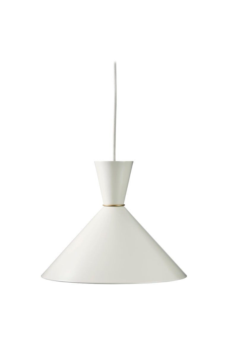 For Sale: White (Warm White) Bloom Pendant Lamp, by Svend Aage Holm Sorensen from Warm Nordic