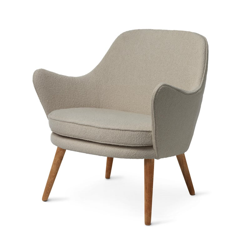 For Sale: Gray (Barnum 2) Dwell Lounge Chair, by Hans Olsen from Warm Nordic 2