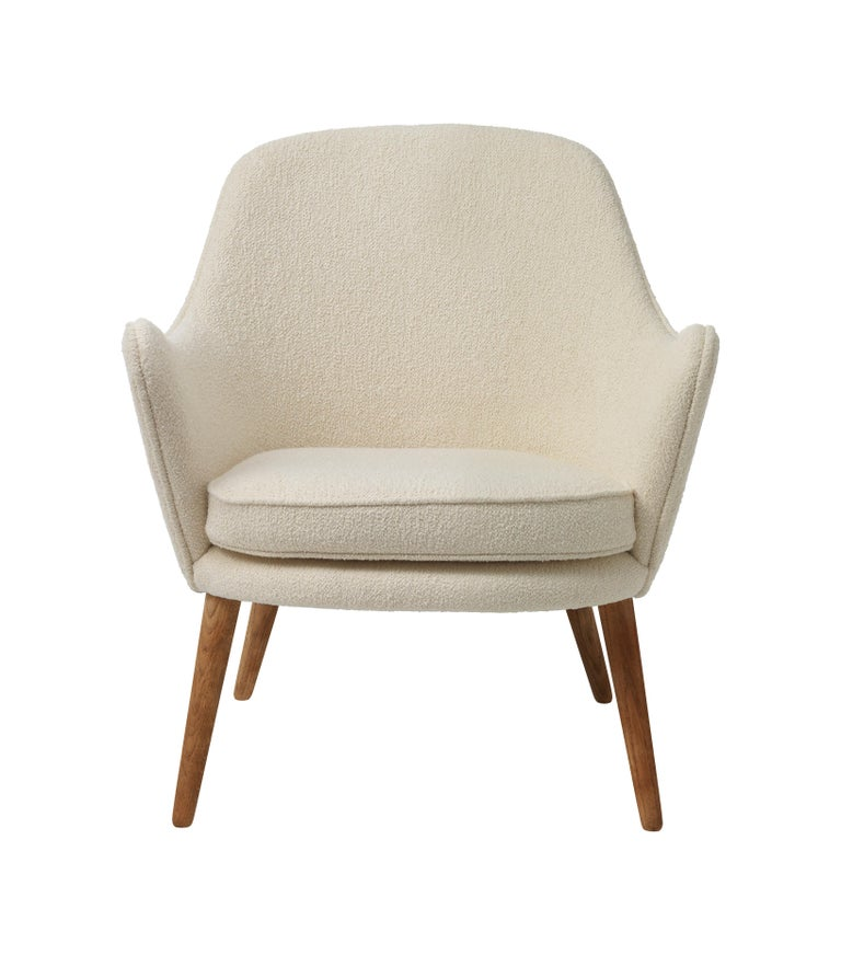 For Sale: White (Barnum 24) Dwell Lounge Chair, by Hans Olsen from Warm Nordic
