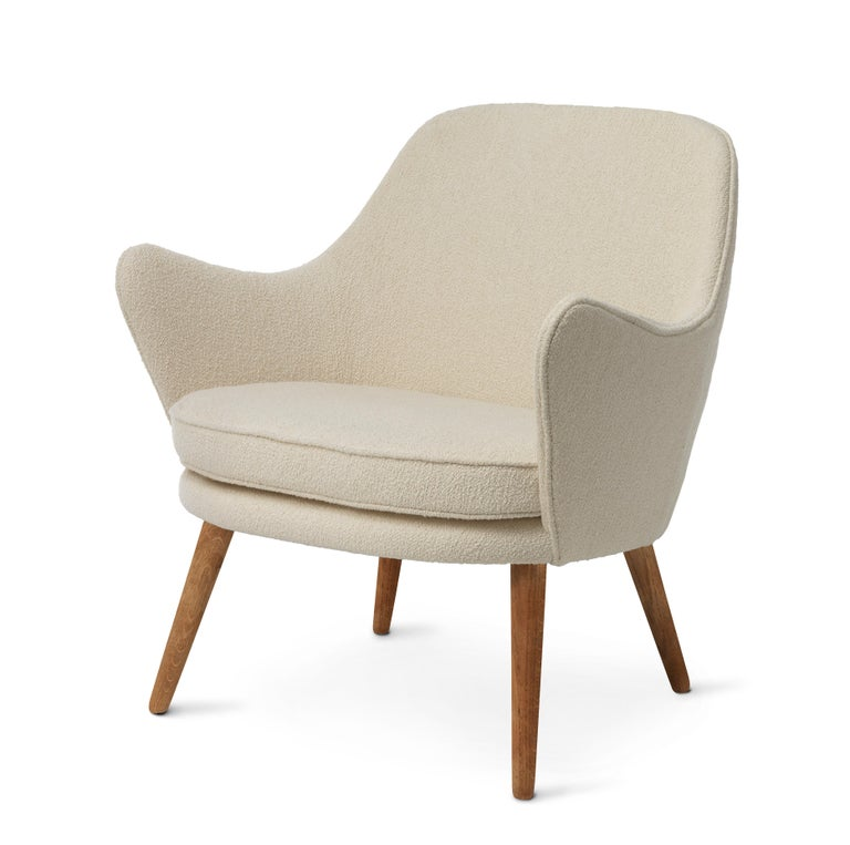 For Sale: White (Barnum 24) Dwell Lounge Chair, by Hans Olsen from Warm Nordic 2