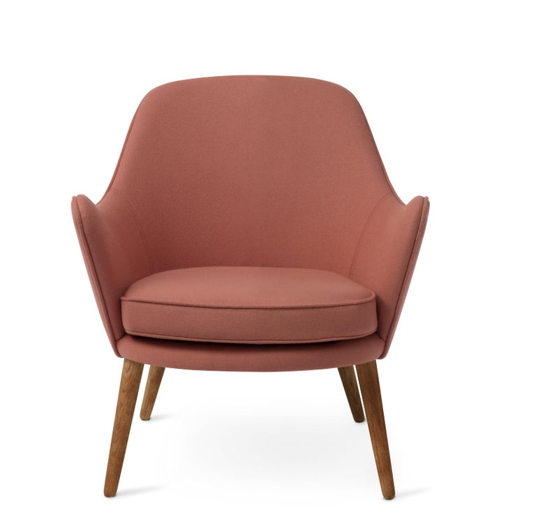 For Sale: Pink (Hero 511) Dwell Lounge Chair, by Hans Olsen from Warm Nordic