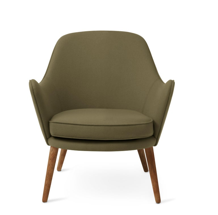 For Sale: Green (Hero 981) Dwell Lounge Chair, by Hans Olsen from Warm Nordic
