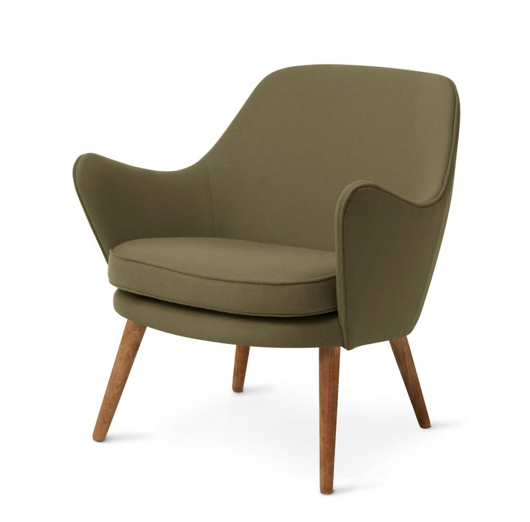 For Sale: Green (Hero 981) Dwell Lounge Chair, by Hans Olsen from Warm Nordic 2