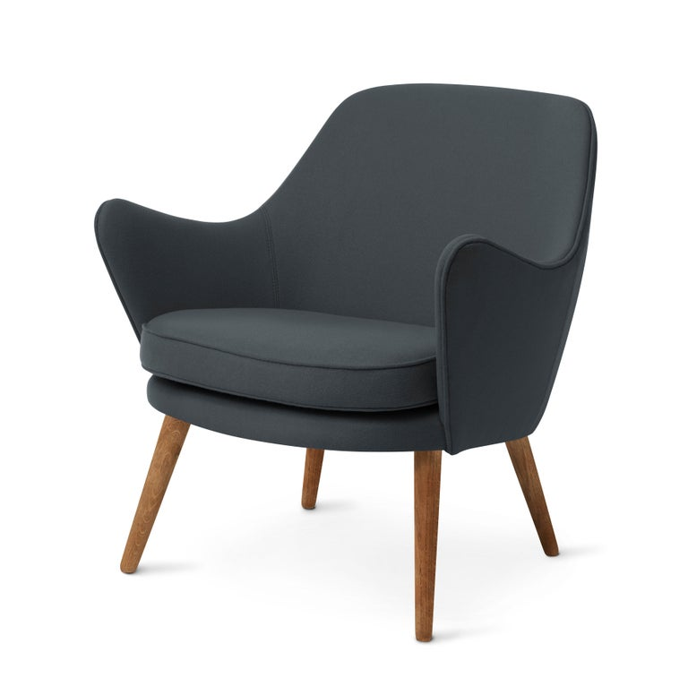 For Sale: Blue (Hero 991) Dwell Lounge Chair, by Hans Olsen from Warm Nordic 2